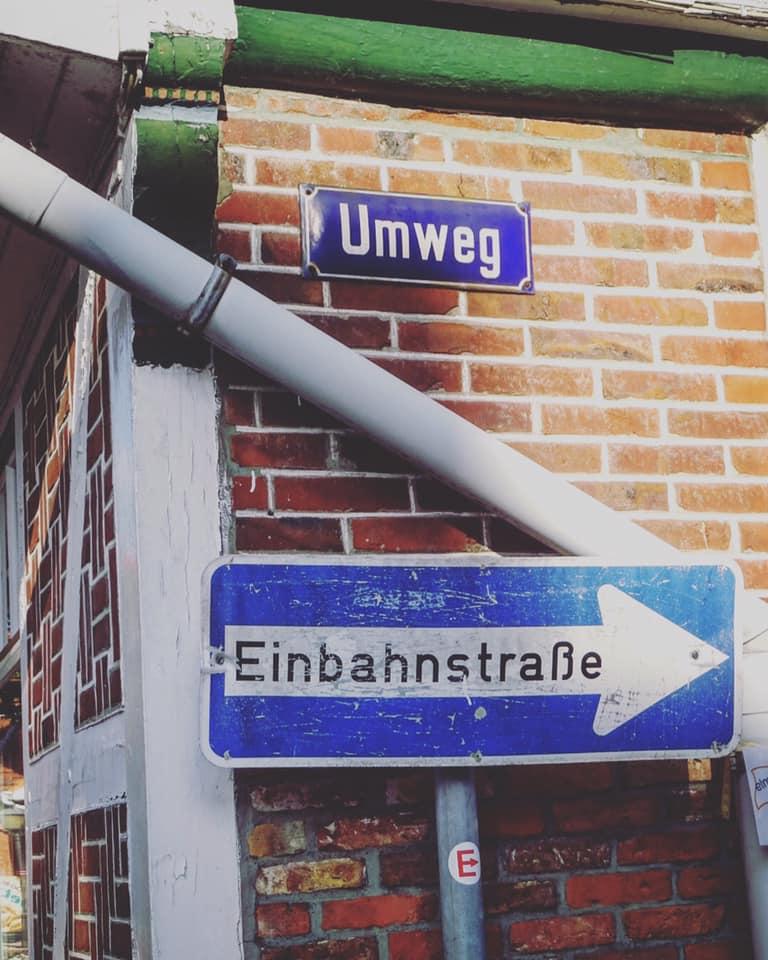 Eine Geschichte von Hase, Igel, der Elbe und einer eigenen Art zu denken