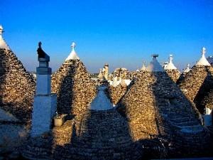 12 Alberobello Trullidächer