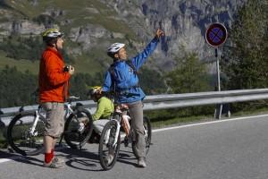 Der Belgier David erklärt die Schweizer Alpen