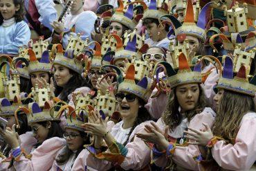 Karneval der Chöre in Cadiz