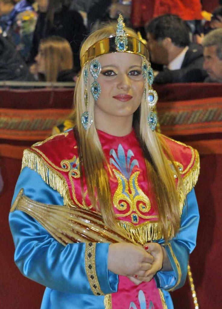 Eine biblische Inszenierung in Lorca Spanien von Udo Haafke