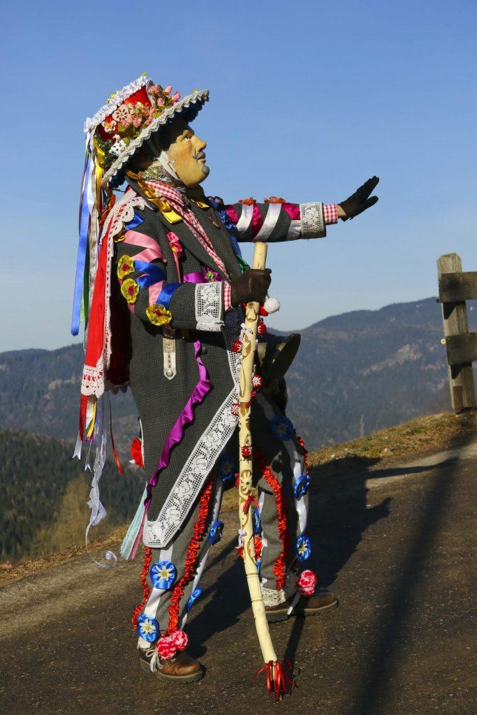 Karneval der Matoci Fasching Südtirol Trentino