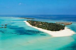 Entspannen und Abschlagen auf Mauritius