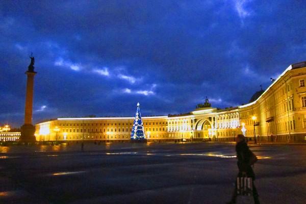 Der Schlossplatz zählt zu den schönsten Plätze der Welt