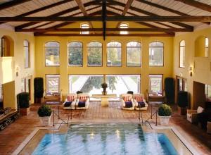 2003 Bleiche Schwimmbad mit Blick Aussenpool