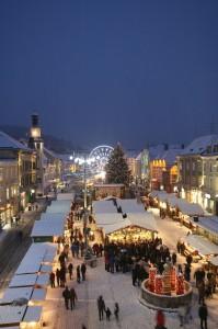 Weihnachtsdorf in Leoben.  Foto: Leoben Freisinger