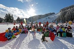 Kinder-Ski-Opening in Ramsau am Dachstein. Foto: photo-austria.at  Hans-Peter Steiner