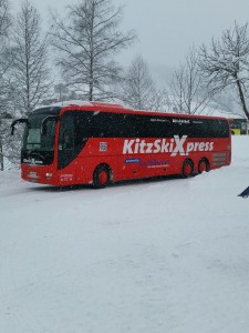 Mit dem Bus (fast) auf die Piste