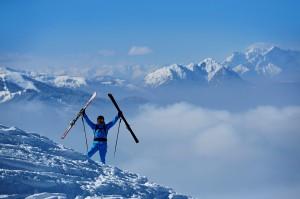 Tiefschnee-Spaß mit der Kitzbüheler Alpen AllStarCard. Foto: Norbert Eisele-Hein