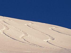 Powder-Feeling pur am Arlberg.