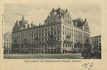 Cafe Luitpold München um 1900 (c) Wikipedia