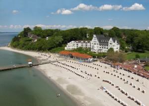 Logenplatz am Meer: Das Strandhotel Glücksburg