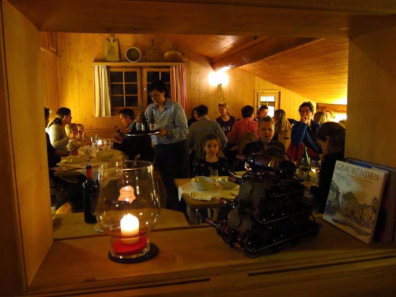 3) Bergrestaurant Tegia Larnags