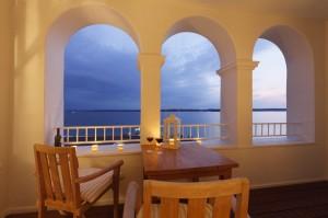 Für romantische Momente: Balkon mit Ausblick