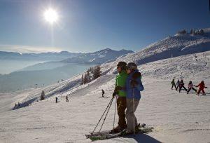 Pisten-Spaß im Ski Juwel Alpbachtal Wildschönau