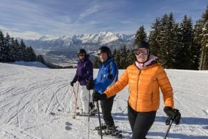 Die Silberregion Karwendel bringt Junggebliebene und Familien auf die Brettln
