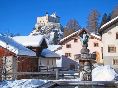 5b) der Weiler Sparsels mit dem Schloss