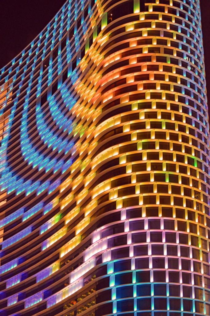 Skyscraper Farbenspiel