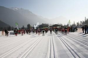 Top Loipen für den Achensee 3-Täler-Lauf