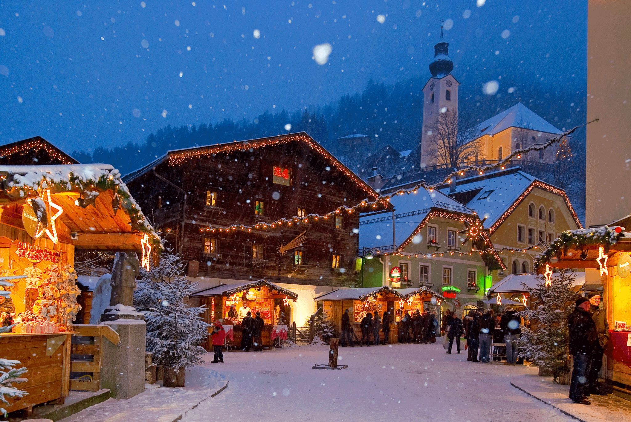 Advent, Advent – der Ski, der rennt!