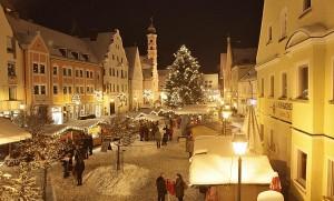 Christkindlmarkt in Aichach. Foto: Stadt Aichach