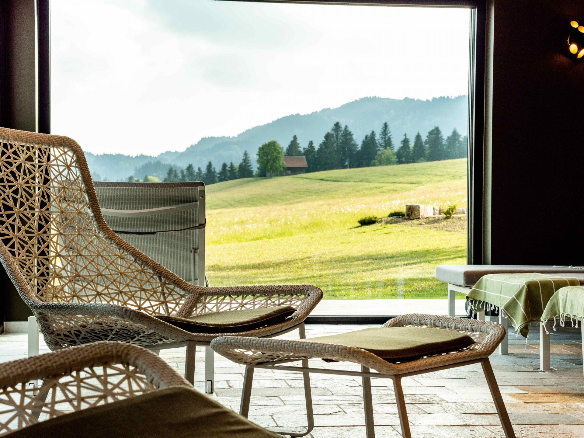 Alpenloge Logen Scheidegg Allgäu Golf Hotel Resort