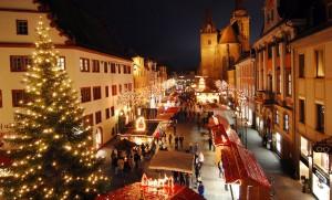Weihnachtsmarkt in Ansbach.