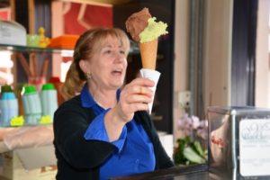 Das beste Eis kommt von Baccaro in Castro