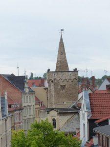 Blick zum Johannis-Torturm, Foto: Weirauch