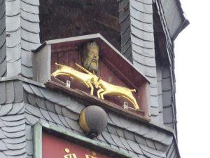 Die berühmten Ziegenböcke von Aschersleben, Foto: Weirauch