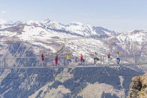 Von Aerial-Yoga bis Waldbaden