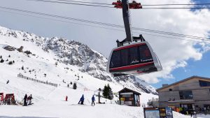 Skilaufen nach dem Sonnenprinzip in Lenzerheide