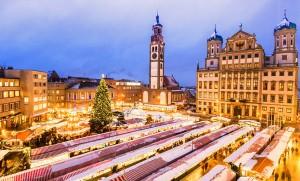 Christkindlesmarkt in Augsburg. © Regio Augsburg Tourismus GmbH