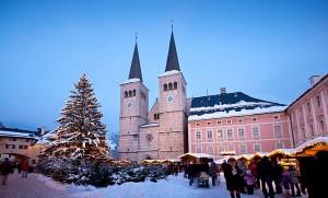 Advent am Königlichen Schloss in Berchtesgaden. © Berchtesgadener Land Tourismus