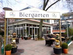 Biergarten Trihotel Rostock 2016-04-23 Foto Elke Backert (1)