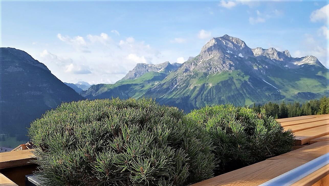 Kraftquelle Goldener Berg in Oberlech