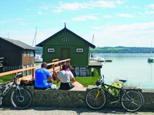 Kies, Schilf und schlechte Wege Bei einer Radtour um den Ammersee braucht man guten Spürsinn