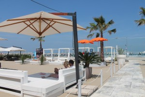 Relax-Atmosphärte im Fantini-Club, Foto; Heiner Sieger