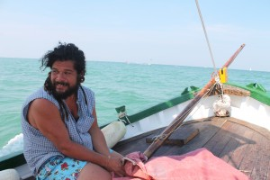Der Geschmack des Meeres bei der Ausfahrt mit der historischen Fischerschaluppe, Foto, Heiner Sieger,