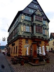 Churfranken  Miltenberg Hotel zum Riesen Front (1)