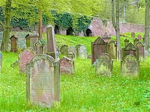 Churfranken  Miltenberg Juedischer Friedhof 1500 bis 1904