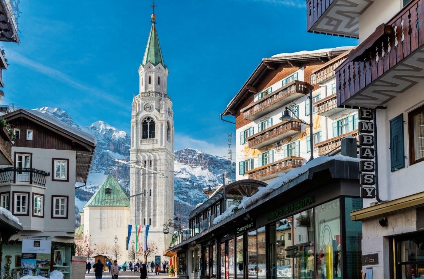 Mit der Ski-WM 2021 zurück in Cortina d'Ampezzos verlorene Zeit