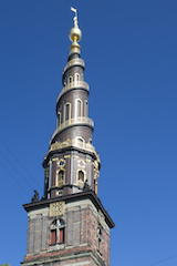 historischer Kirchturm der Christianskirche