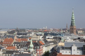 Blick vom Runden Turm über Kopenhagen