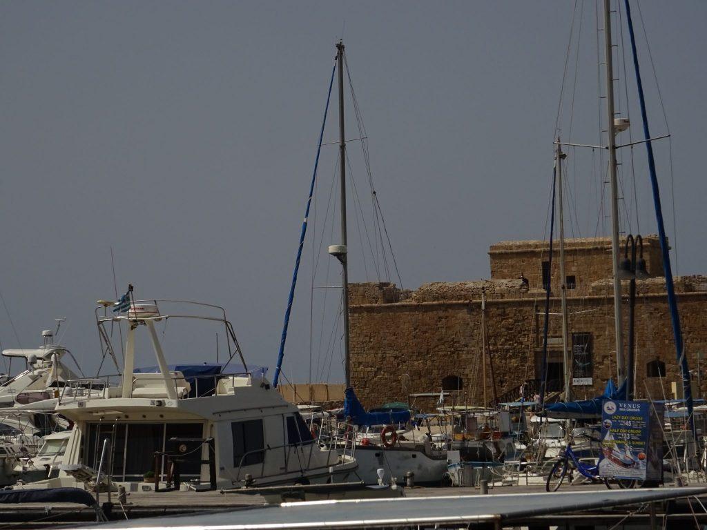 Der Hafen von Paphos
