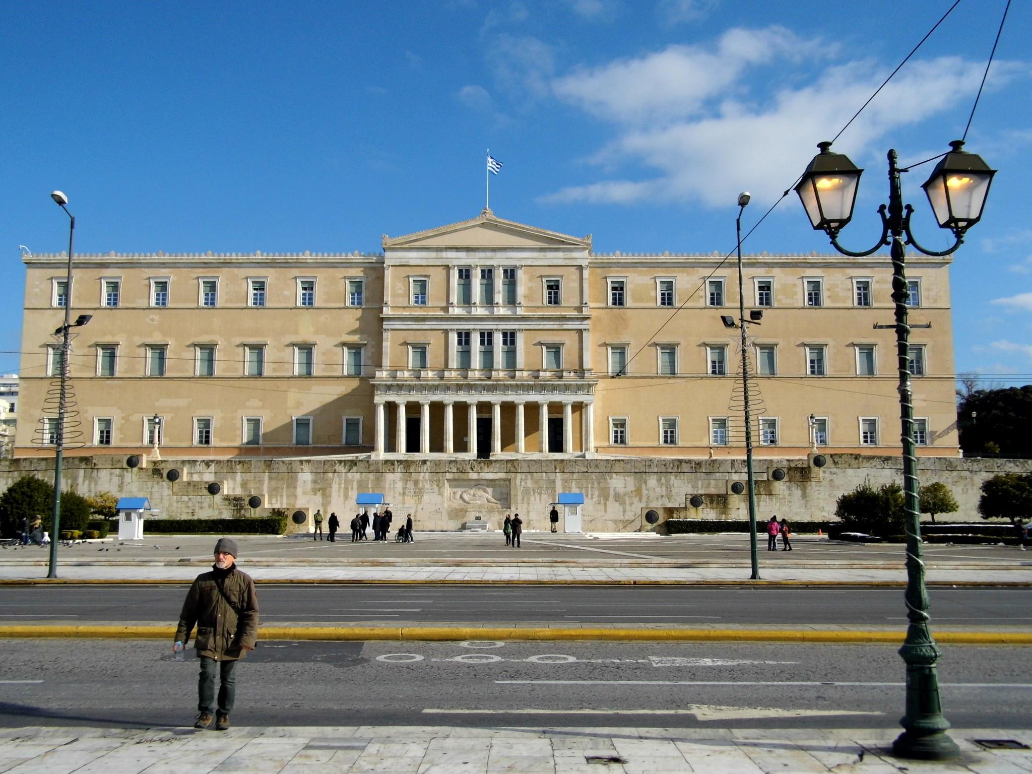 Mein Athen im Januar 2017