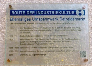 Denkmal Route der Industriekultur Chemnitz 2016-05-27 Foto Elke Backert