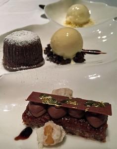 Dessert im Jean-Georges