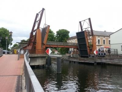 Die Hastbrücke in Zehdenick