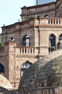 Die Termalquellen von Tiflis